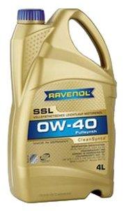 Моторное масло Ravenol Super Synthetik Öl SSL SAE 0W-40 4 л