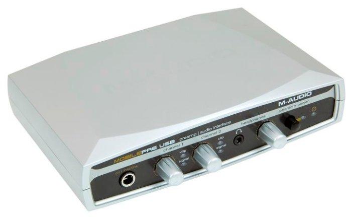 Внешняя звуковая карта M-Audio MobilePre USB