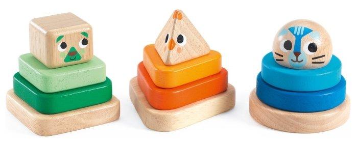 Пирамидка DJECO Животные