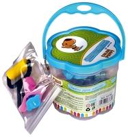 Масса для лепки Color Puppy 18 цветов 315 г с формочками и инструментами (63780)