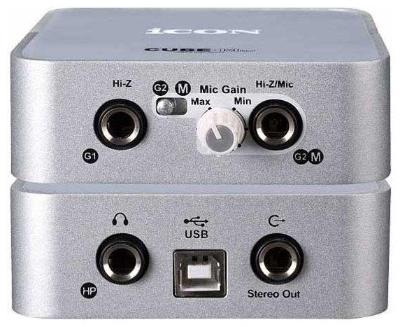 Внешняя звуковая карта ICON Cube Mini