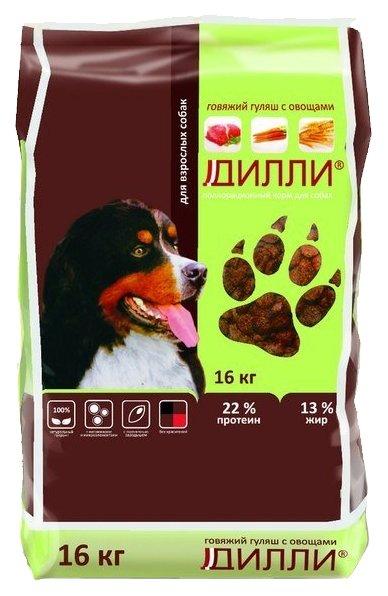 Корм для собак Дилли Говяжий гуляш с овощами