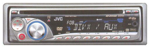 Автомагнитола JVC KD-DV4408