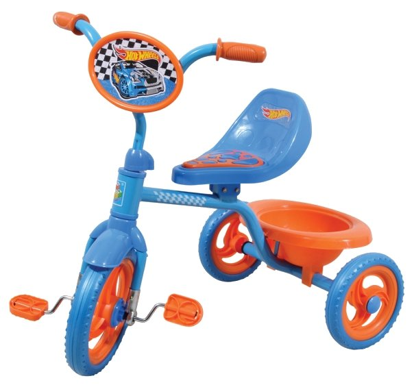 Трехколесный велосипед 1 TOY Т57610 Hot Wheels