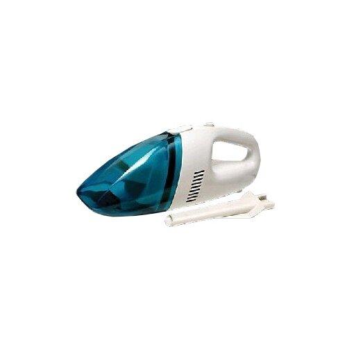 Пылесос автомобильный RUNWAY RACING RR120, белый/голубой