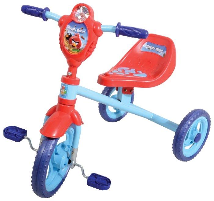 Трехколесный велосипед 1 TOY Т56843 Angry Birds