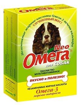 Лакомство для собак Омега Neo с морскими водорослями