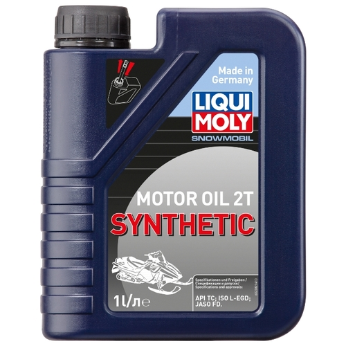 Моторное масло LIQUI MOLY Snowmobil Motoroil 2T Synthetic 1 л Моторные масла