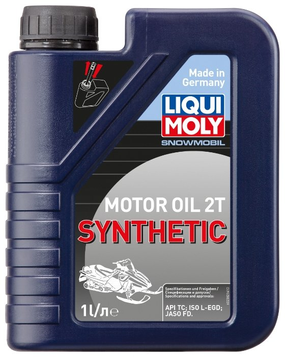 Моторное масло LIQUI MOLY Snowmobil Motoroil 2T Synthetic 1 л