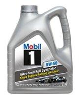 Моторное масло MOBIL 1 5W-50 4 л