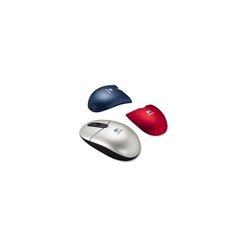 Мышь Logitech Cordless Optical Mouse Color Select Metallic USB+PS/2