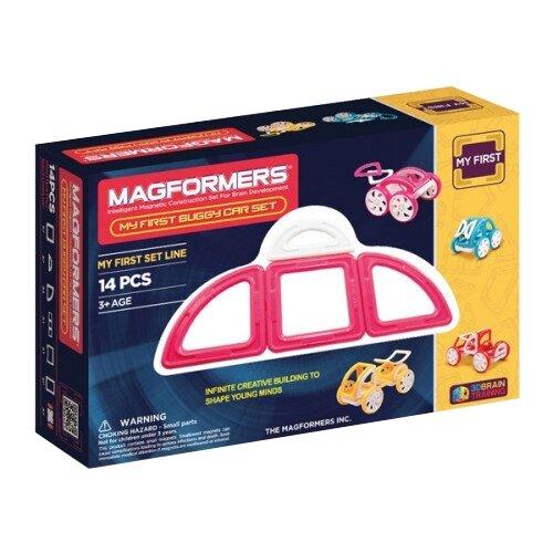 Фото - Конструктор Magformers My First 63147 Розовый багги конструктор magformers my first 63144 желтый багги