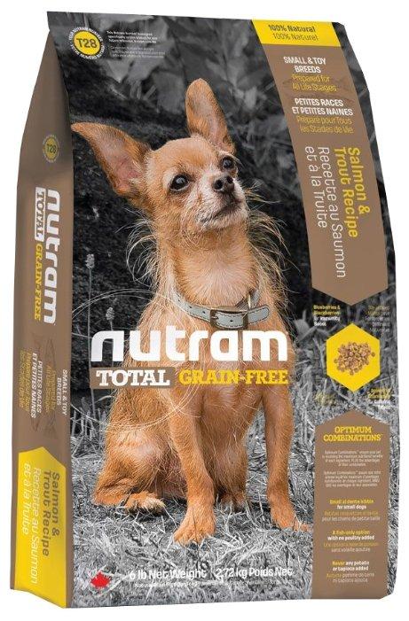 Корм для собак Nutram T28 Лосось и форель для собак мелких пород