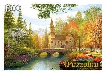 Пазл Рыжий кот Puzzolini Доминик Дэвисон Осенний парк (MGPZ1000-7741), 1000 дет.