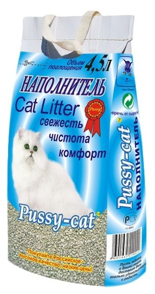 Pussy-Cat Минеральный (4.5 л)