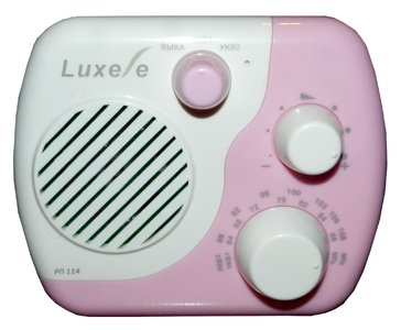 Радиоприемник Сигнал Luxele РП-114 белый