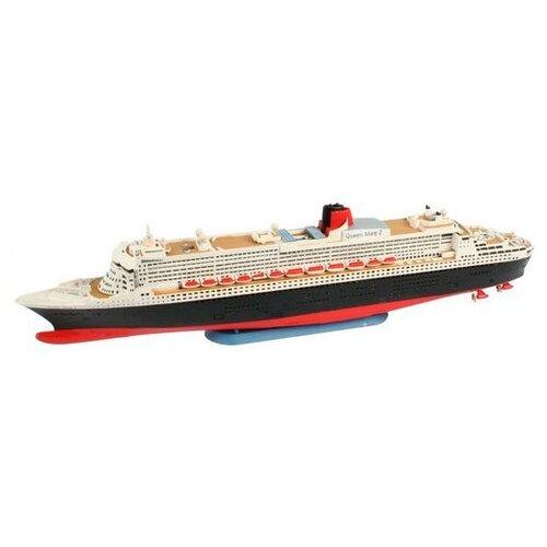 Сборная модель Revell Queen Mary 2 (65808) 1:1200 сборная модель revell battleship uss missouri 65128 1 1200