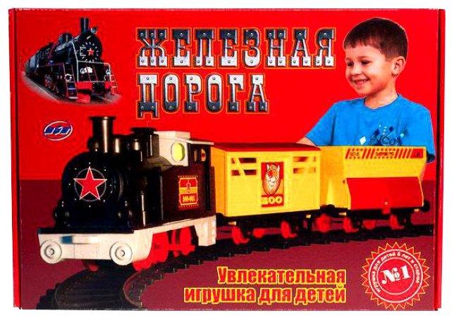 "железная дорога ОмЗЭТ Стартовый набор ""Железная дорога"", 153-TOPAZ"