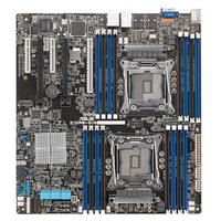 "Материнская плата ASUS Z10PE-D16 Intel C612, Dual LGA-2011-3, Xeon E5-2600 v3, 16xDDR4 (512GB/RDIMM), VGA: Aspeed AST2400, 3xPCIex16 (x16)+2PCIe x8(x8), 2xGBL+1Mgmt LAN, ASMB8-iKVM onboard, 10 x SATA3 ports (RAID 0,1,10, 5), EEB (12"""" x13"""")"