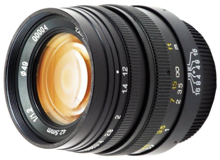 Объектив Mitakon Speedmaster 42.5mm f/1.2 Micro 4/3