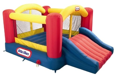 Надувной комплекс Little Tikes Jump'n Slide Bouncer 620072