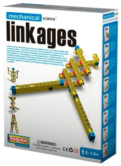 Конструктор ENGINO Mechanical Science M02 Linkages