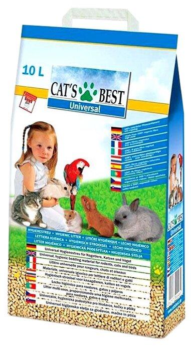 Комкующийся наполнитель Cat's Best Universal (10 л)