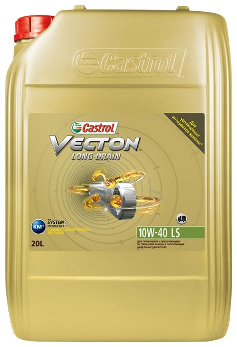 Моторное масло Castrol Vecton Long Drain 10W-40 LS 20 л