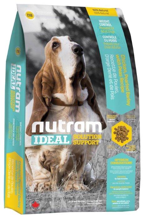 Корм для собак Nutram I18 Контроль веса для собак