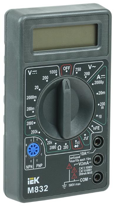 Мультиметр IEK Universal M832
