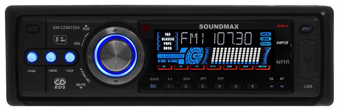 Автомагнитола SoundMAX SM-CDM1034