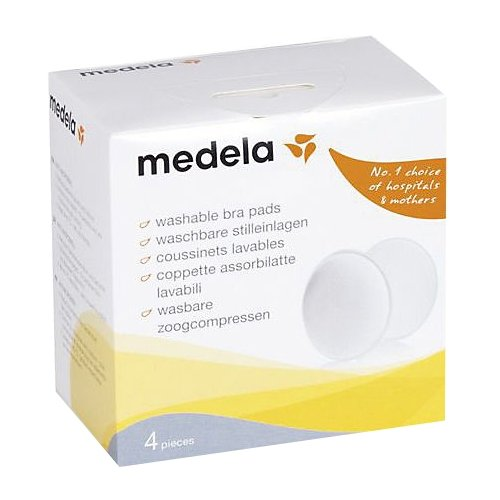 Medela Многоразовые прокладки для бюстгальтера 4 шт. набор прокладок для груди medela многоразовые 4 шт