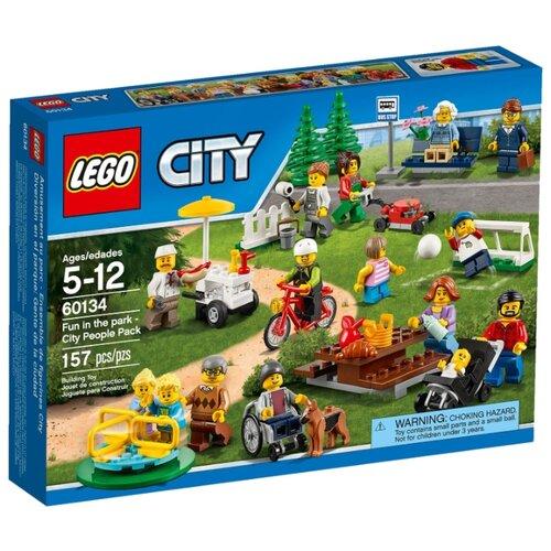 Купить Конструктор LEGO City 60134 Веселье в парке, Конструкторы
