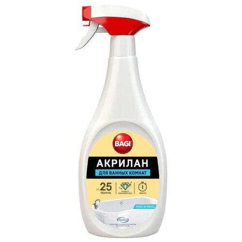 Bagi пена для уборки ванной Акрилан 0.4 лДля кафеля, сантехники и труб<br>