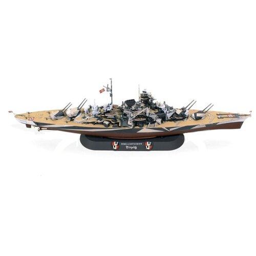 Сборная модель Моделист Линкор Тирпиц (180080) 1:800 корабль моделист линкор тирпиц 1 800 серый 180080