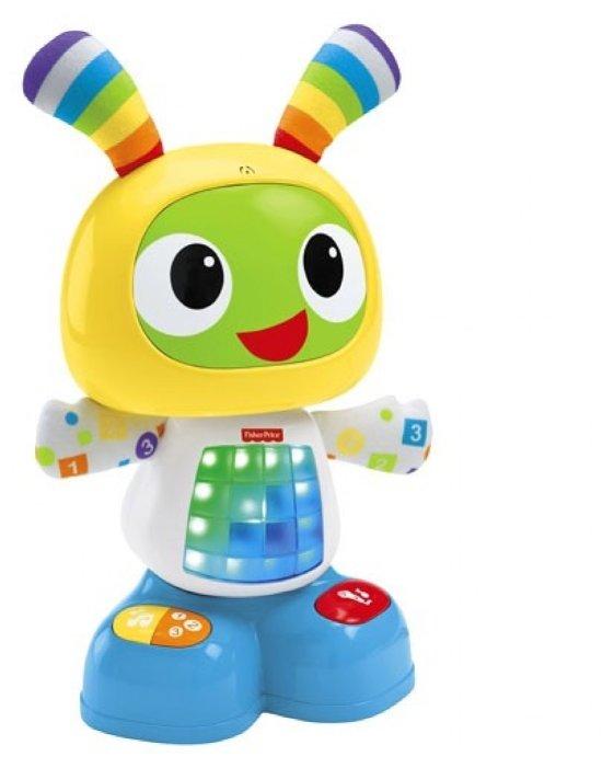 Интерактивная развивающая игрушка Fisher-Price Веселые ритмы. Обучающий робот Бибо (DJX26)