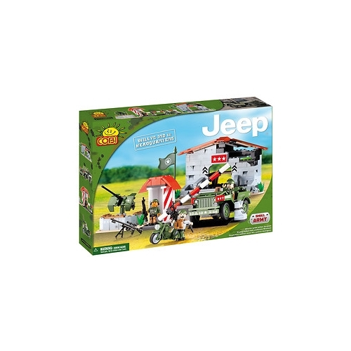 Конструктор Cobi Small Army Jeep 24320 Штаб