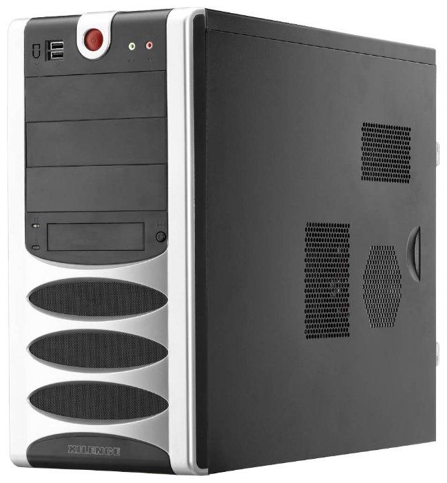 Компьютерный корпус Xilence X2 Black/silver