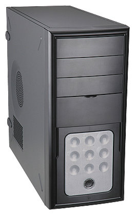 Компьютерный корпус IN WIN C588T 450W Black/silver