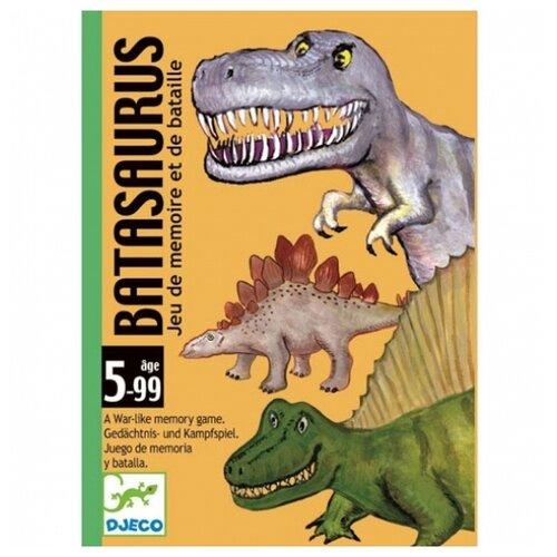 Настольная игра DJECO Карточная игра Динозавры настольная игра djeco сачки и лестницы