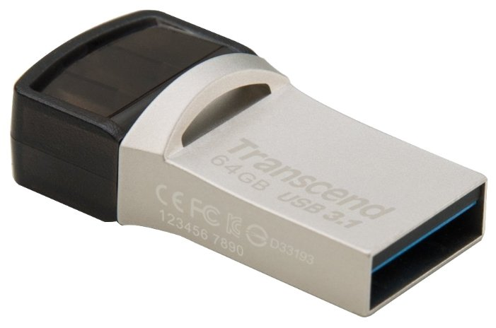 Transcend Флешка Transcend JetFlash 890S 64GB