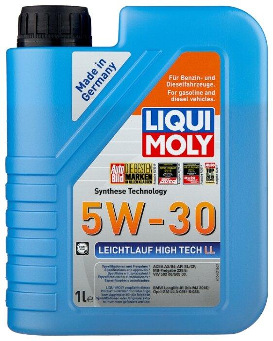 Моторное масло LIQUI MOLY Leichtlauf High Tech LL 5W-30 1 л — купить по выгодной цене на Яндекс.Маркете