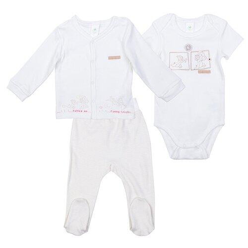 Купить Комплект одежды playToday размер 56, белый, Комплекты