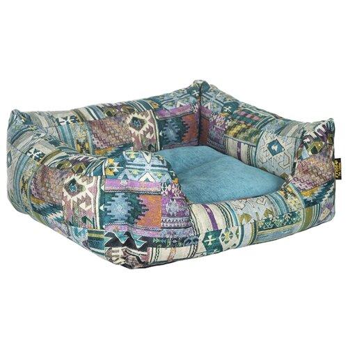 Лежак для животных Этника PRIDE 70х60х23см бирюзовый недорого