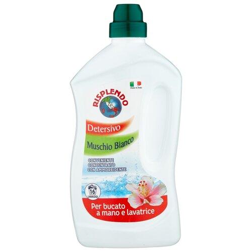 Жидкость для стирки Risplendo Белый мох с кондиционером 1 л бутылка средство для стирки с кондиционером двойной эффект hanbok 1 5 л