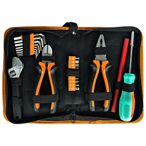 Набор инструментов Sturm! (23 предм.) 1310-01-TS23 черный/оранжевый набор инструментов sturm 1310 01 ts132 132 шт