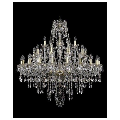Фото - Люстра Bohemia Ivele Crystal 1415 1415/20+10+5/360/G, E14, 1400 Вт люстра bohemia ivele crystal 1415 1415 20 10 5 400 xl 180 3d g e14 1400 вт