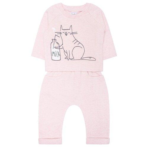 Фото - Комплект одежды crockid размер 80, розовый комплект одежды crockid размер 74 белый розовый