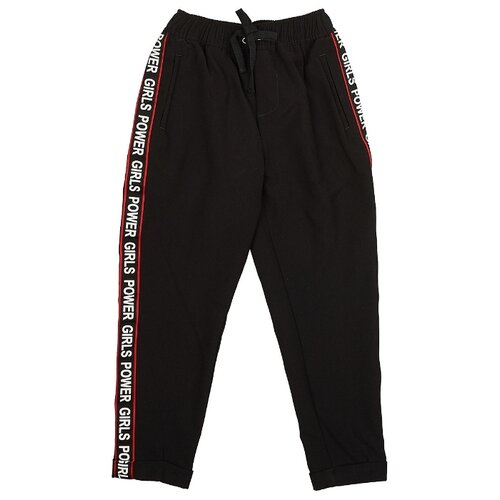 Спортивные брюки MODIS размер 146, черный брюки спортивные modis modis mo044ememjf7