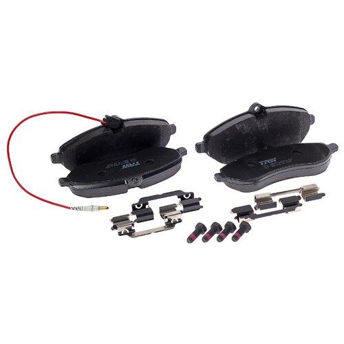Фото - Дисковые тормозные колодки передние TRW GDB1718 для Citroen, Fiat, Peugeot, Toyota (4 шт.) дисковые тормозные колодки передние ferodo fdb4446 для mazda 3 mazda cx 3 4 шт